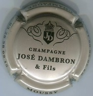 CAPSULE-CHAMPAGNE DAMBRON José N°05 Grège & Noir - Champagne