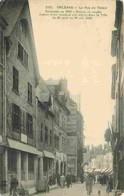 45 - Orléans - La Rue Du Tabour - Animée - Commerces - Oblitération Ronde De 1914 - Correspondance - Voir Scans Recto-Ve - Orleans