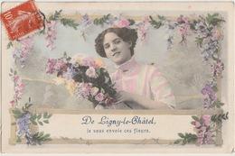 89 - LIGNY LE CHATEL - SOUVENIR DE ... - Ligny Le Chatel