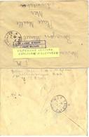 GUERRE 39-45 G 1420 1er R.A. TCHECOSLOVAQUIE B.H.R. S.P. 2197 TàD 8-4-40 + CENSURE MILITAIRE – VOJENSKÝ CENSURA - Storia Postale