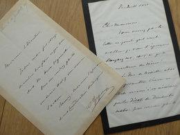 Rudolphe APPONYI (1812-1876) Diplomate HUNGARY MAGYAR Hongrie Ambassadeur AUTOGRAPH - Autografi