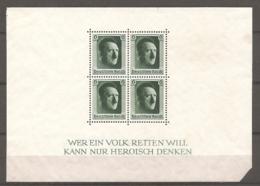 DR - BF  Yv.n°  8, Mi. N° 7  *   Hitler Cote  24  Euro BE R 2 Scans - Germany