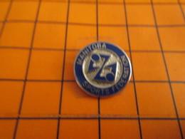 718A Pin's Pins / Beau Et Rare / THEME : SPORTS / MANITOBA SPORTS FEDERATION - Pin's