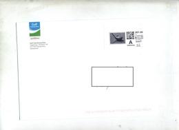 Lettre Affranchie Timbre Personnalisé Golf Domat - Entiers Postaux