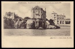Residencias DUQUE De LOULE E Dr.LENCASTRE Em CASCAES / Cascais: Old Postcard (LISBOA) Portugal 1900s - Lisboa