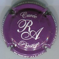 CAPSULE-CHAMPAGNE ALLAIT Robert N°29b Violet Foncé Et Blanc, Cuvée Prestige - Autres