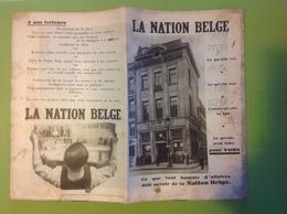 Liv. 339. Petit Livre D'informations De 16 Pages Sur Le Journal La Nation Belge. - Politik