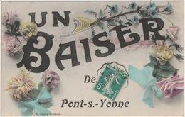 89 - PONT SUR YONNE - SOUVENIR DE ... - Pont Sur Yonne
