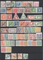 Austria 1867/921 Giornali Advanced Collection 60 Val. O/*/MH/used VF/F - Journaux