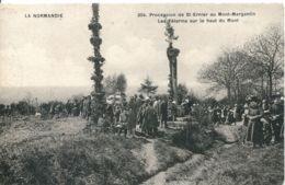 N°5417 T -cpa Procession De St Ernier Au Mont Margantin - Autres Communes