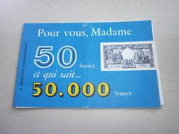 Ancien Carnet Concours 1958  MARIE THUMAS - Belgium