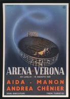 ARENA DI VERONA 22 LUGLIO - 15 AGOSTI 1951 - Publicité