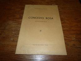 Plaquette Concezio Rosa Paletnologo Raffaele Aurini 14 Pages - Livres, BD, Revues