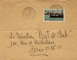 1950-  Enveloppe IMPRIMES  De NEGROPO  Nlle Caledonie Pour La France - Briefe U. Dokumente