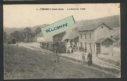 39 - Foncine-le-Haut  Le Départ Du Tram -La Gare Du Tram - Tacot Foncine-le Haut  à Saint Laurent Via Foncine Le Bas - Sonstige Gemeinden