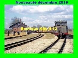 AL 615 - Train - Locotracteur BA 12 En Gare - ARGY - Indre - BA - Eisenbahnen