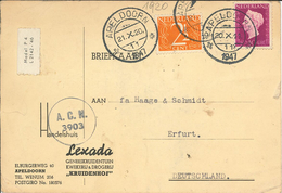 Apeldoorn 1920 - Lexada Handelshaus - Samenbestellung Atropa Belladonna Taraxacum Officinalis - Periode 1891-1948 (Wilhelmina)
