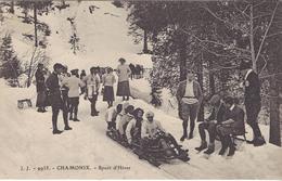 74 CHAMONIX MONT BLANC SPORTS D HIVER  BOBSLEIGH  Edit JULLIEN FRERES JJ9933 - Chamonix-Mont-Blanc