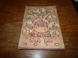 Koledar Druzbe Mohorja Sveto Leto 1950 128 Pages Voir Sommaire - Livres, BD, Revues