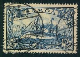 """1900, 2 Mark Kaiseryacht Gestempelt """"APIA"""" - Colonie: Samoa"""