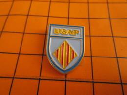 610e Pin's Pins / Beau Et Rare / THEME : AUTRES / BLASON CLUB USAP PERPIGNAN - Pin's
