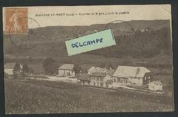 39 - Foncine-le- Haut  Quartier De La Gare Pris Depuis La Citadelle - Sonstige Gemeinden