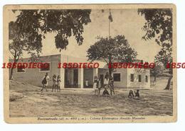 ROCCASTRADA - COLONIA ELIOTERAPICA ARNALDO MUSSOLINI F/GRANDE VIAGGIATA  1942 ANIMATA - Grosseto