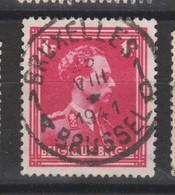 COB 428 Oblitération Centrale BRUXELLES - 1936-1957 Open Collar