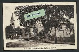 39 - Port-Lesney - Les Ecoles Et L'Eglise - Sonstige Gemeinden