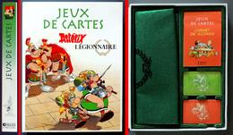 NEUF, COMPLET Jeu De Cartes Astérix Légionnaire (cartes Scellées Stylo Sous Cellophane) - Kartenspiele (traditionell)