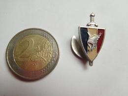 Bel Insigne De Boutonniére ( No Pin's ) , Armée Militaire , Légion Française Des Combattants , Pétain - Heer