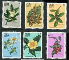 Cuba 1970. Medical Plants. Complete Set ** (6 Stamps) - Nuevos