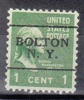 USA Precancel Vorausentwertung Preo, Locals New York, Bolton 701 - Vereinigte Staaten
