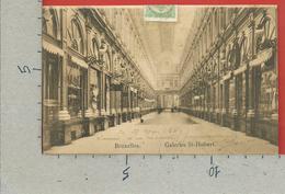 CARTOLINA VG BELGIO - BRUXELLES - Galeries St. Hubert - 9 X 14 - 1911 - Monumenti, Edifici
