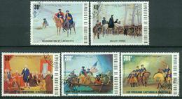 Bm Upper Volta 1975 MiNr 569-573 Used | Bicent Of American Revolution - Upper Volta (1958-1984)