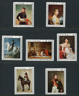 Cuba 1969. Paintings From Napoleon Museum. Complete Set ** (7 Stamps) - Cuba