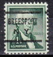 USA Precancel Vorausentwertung Preo, Locals New York, Breesport 622 - Vereinigte Staaten