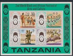 Tanzania - 1977 - N°Mi. Bloc 5 (70) - Festival Arts Nègres - Neuf Luxe ** / MNH / Postfrisch - Tanzania (1964-...)
