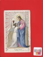 Superbe Image Pieuse Religieuse DENTELLE Canivet  Bouasse JESUS - Andachtsbilder