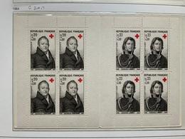 Carnet Croix Rouge Neuf 1964 - Rotes Kreuz