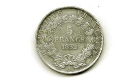 5fr Argent Napoléon III 1852 A  Très Belle Voir Photo Jointe - France