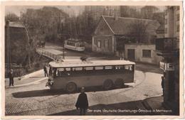 Der Erste Deutsche Oberleitungs-Omnibus In Mettmann - & Bus, Trolley, Tram - Mettmann