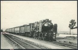 Région Du NORD - Le 18, Rapide Calais-Paris, Machine Pacific 3.1245 - H. M. P. N° 41 - Voir 2 Scans - Trains