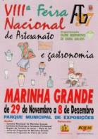 1998 Pocket Calendar Calandrier Calendario Portugal Lugares Cidades Costumes Marinha Grande Feira Artesanato - Small : 1991-00