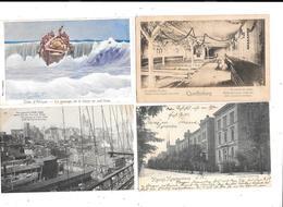 11458 - Lot De 100 CPA Divers ETRANGER - Cartes Postales