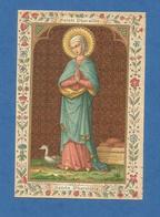 IMAGE PIEUSE HOLY CARD SANTINO IMMAGINETTE SACRE SAINT AUGUSTIN BRUGES BRUGGES PHARAILDE GAND SAINT AUGUSTIN BRUGES OIE - Images Religieuses