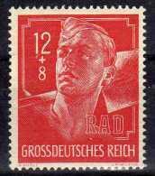 Deutsches Reich, 1944, Mi 895 * RAD [240115XI] - Deutschland