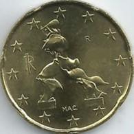 Italie 2020   20 Cent     UNC Uit De BU  UNC Du Coffret  !! - Italie