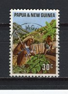 PAPOUASIE ET NOUVELLE-GUINEE - Y&T N° 208° - Culture De La Pomme De Terre - Papouasie-Nouvelle-Guinée