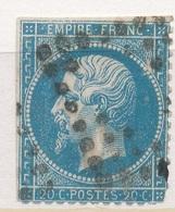 N°22 LOSANGE EVIDE. - 1862 Napoléon III